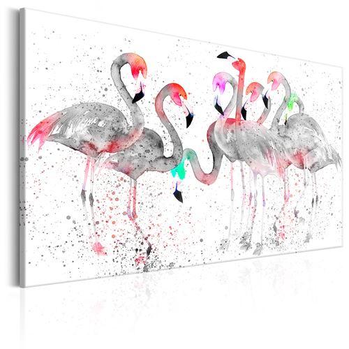 Tableau - Danse des flamants - Décoration, image, art -