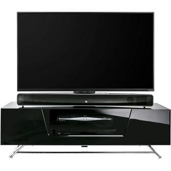 Tv Alphason Chromium 2 Support 1200 Cantilever Noir Meuble Avec 3TlFK1Juc