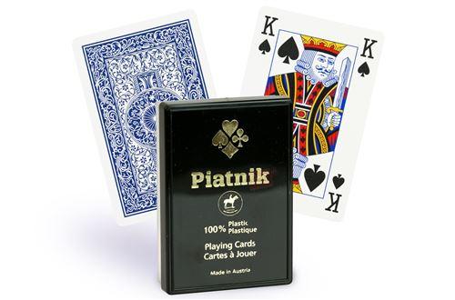 Cartes Piatnik Bridge 4 index (rouge)