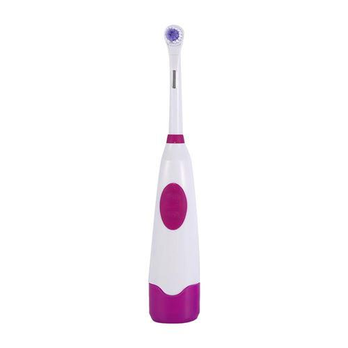 Brosse à dent électrique rotative avec 1 têtes de brosse à dent Violet