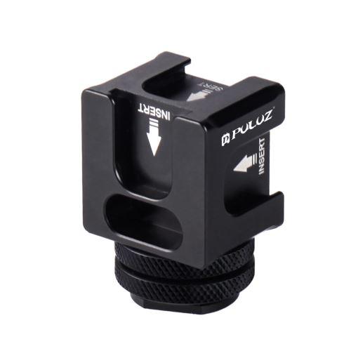 4 Hot Head Shoe Mount Adapter Mic Flash Light En Alliage D'Aluminium Support de Support