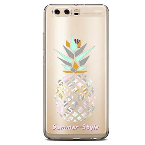 Coque Huawei Y5 2018 ananas aztec summer tropical exotique transparente