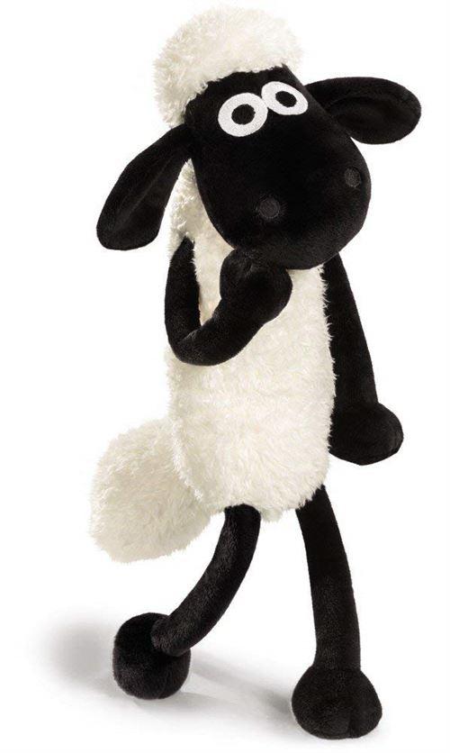 NICI 39655 Shaun le mouton 25 cm, Blanc