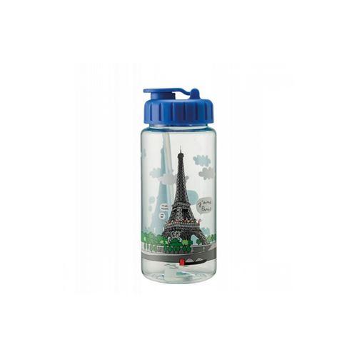Gourde Tour Eiffel en tritan Petit Jour Paris Multicolore