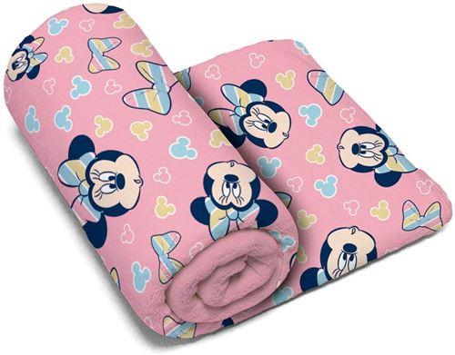 Disney serviette Minnie Mouse polyester 150 x 95 cm rose