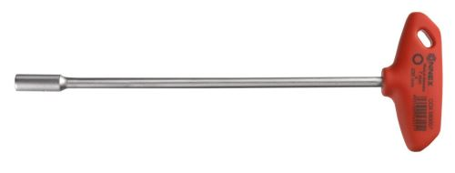 Connex COX583007 Clé à douille avec manche en T, Argent/noir/rouge, 7 x 230 mm