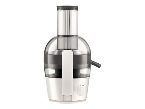 Philips Viva Collection HR1855 - Centrifugeuse - 2 litres - 700 Watt - blanc nacré