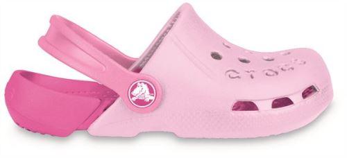 Crocs electro kids sabots <strong>chaussures</strong> sandales en rose bubblegum fuchsia 10400 68g