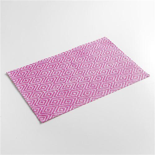 Set de table 30 x 45 cm fibre papier losamo Fuchsia