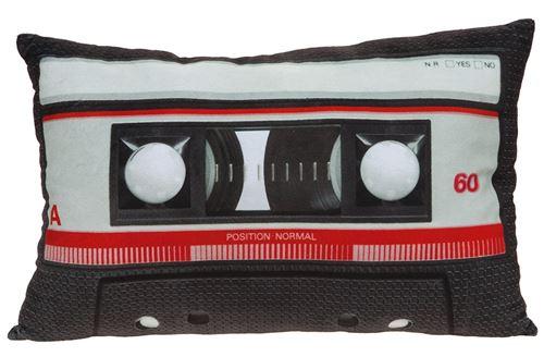 Kamparo cassette cassette à coussin noir 30 x 45 cm