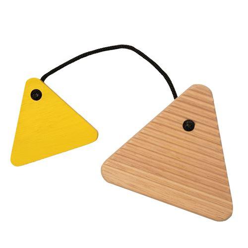Manhattan Toy planche à laver junior 8,9 x 9 cm bois clair/jaune