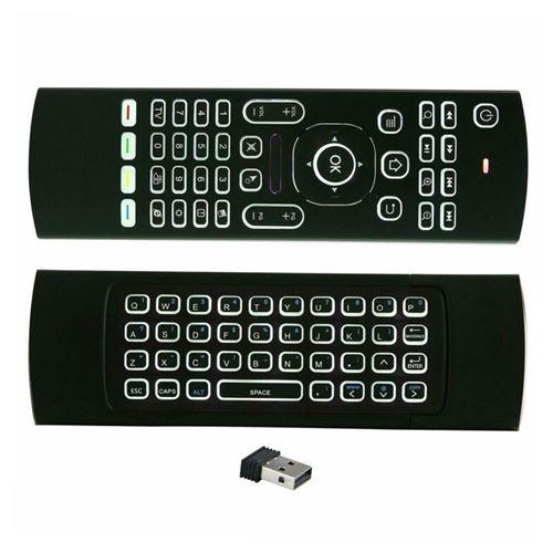 Télécommande 2.4G sans fil pour Smart TV Box Android PC