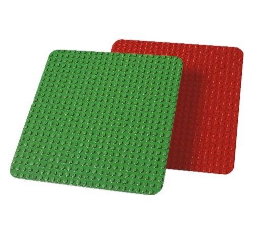 LEGO Education Duplo Large Building Plates, Assorted Color, 38cm x 38cm