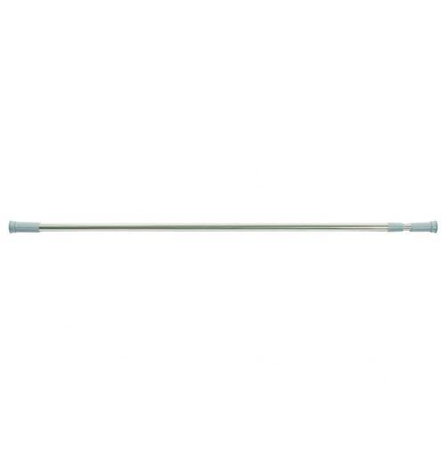 Barre de douche extensible - L 110 cm à 200 cm - Inox