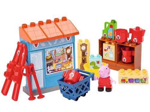 Bebe Puericulture Ensemble De Figurines Famille De Peppa 800057113 Big Bloxx Peppa Pig Jeux De Construction