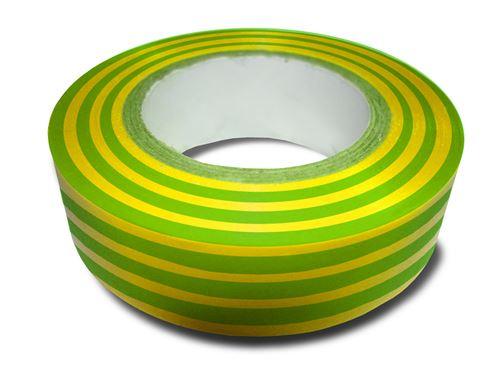 Rouleau adhésif 15mm x 10m Vert/Jaune - Zenitech
