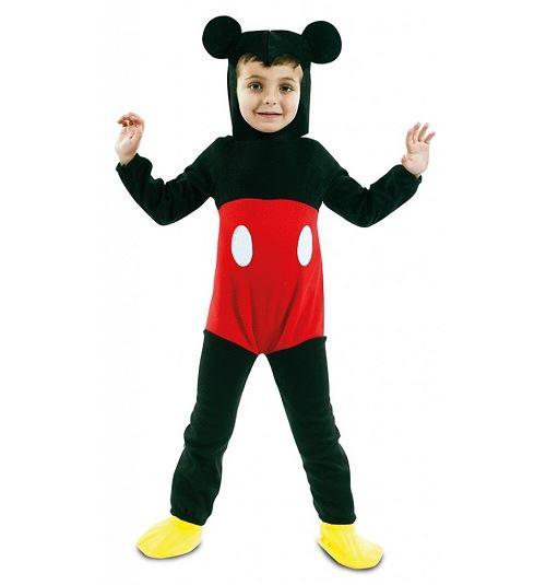 Deguisement souris mickey 2 pièces enfant 5-6 ans (sans sur-chaussures)