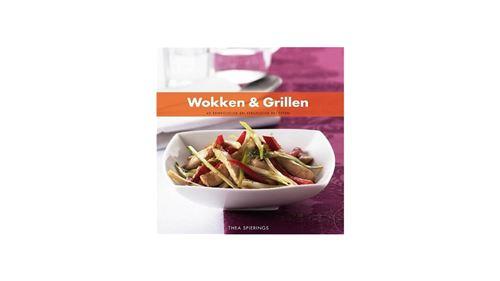 Livre de recettes Wok & Grillades