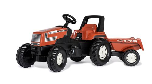 Rolly Toys tracteur RollyFarmtracà marches Fiat Centenario 150 cm rouge