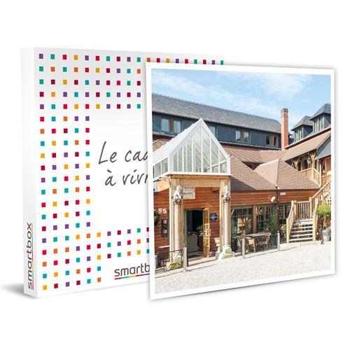 SMARTBOX - Escapade dans le pays d'Auge en hôtel 3* avec accès au spa et gommage - Coffret Cadeau