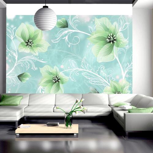Papier peint - Mysterious fun II - Décoration, image, art | Fonds et Dessins | Motifs floraux |