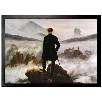 Caspar David Friedrich Paillasson Essuie-Pieds - Le Voyageur Contemplant Une Mer De Nuages, 1818 (70x50 cm) - Achat & prix | fnac