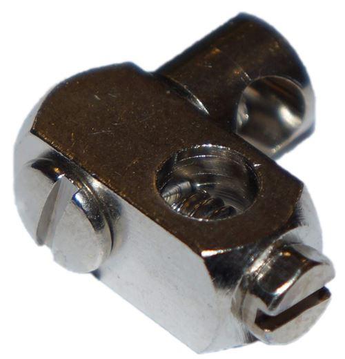 Curseur de tirette laiton pour vidage lavabo référence 550.