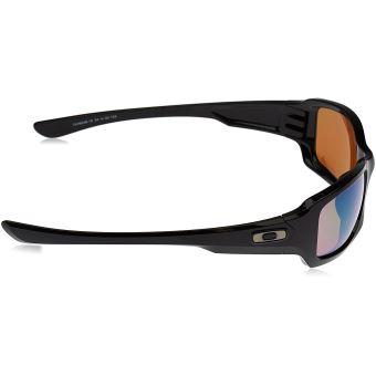 Lunettes de Soleil Oakley Fives SquaRed, Polished Black   Prizm FRESH Water  Polarized - Lunettes - Achat   prix   fnac 4bd40e4f2363