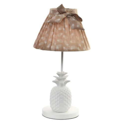 Lampe à poser Ananas 40 cm - Pêche