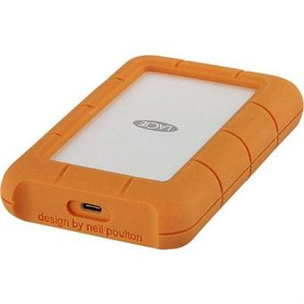 LaCie 2TB Rugged Secure USB3.1 Type C + Data Recovery - STFR2000403