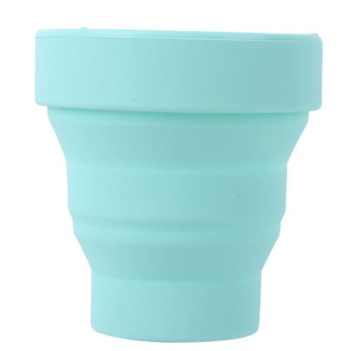 Tasse à Eau Pliante Portable en Silicone Télescopique 230 ml