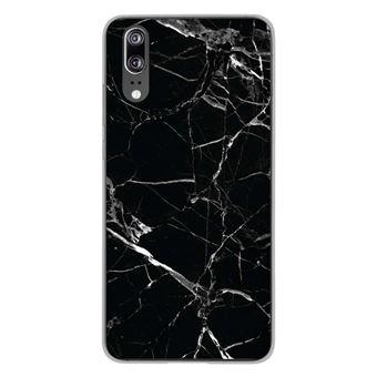 coque huawei p20 silicone marbre