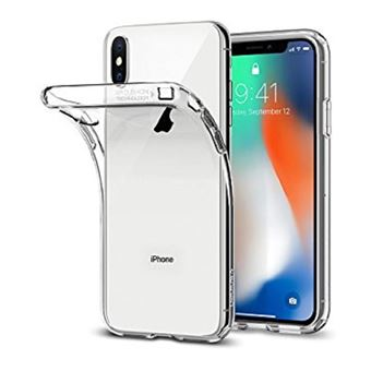 Coque Iphone X 10 Silicone Ultra Fine Transparente