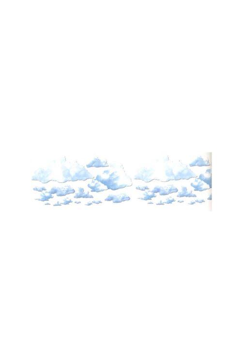 Set De 24 Decors Nuages Assortis - Bleu