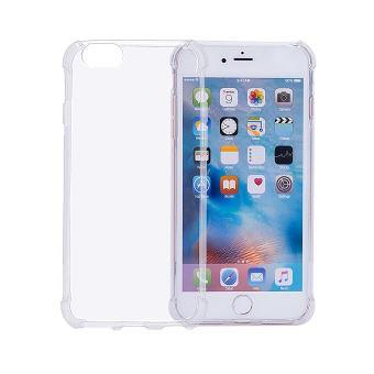 CABLING® Coque ANGLE RENFORCES en silicone gel pour iPhone 7 Transparent