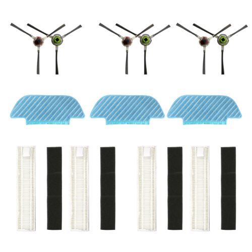Pièces de rechange Bristle Brosse brosse latérale Mop Pour Ecovacs OZMO Slim 10 Balais