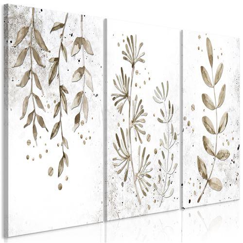 Tableau - Twigs (3 Parts) - Décoration, image, art | Abstraction | 120x60 cm |