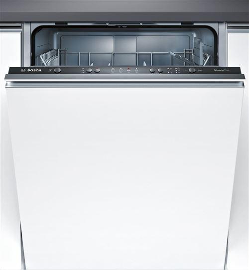 Bosch SilencePlus speedMatic SMV41D00EU - Lave-vaisselle - intégrable - Niche - largeur : 60 cm - profondeur : 55 cm - hauteur : 81.5 cm - noir
