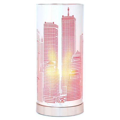 LAMPE TOUCH CITY CYLINDRE Rose