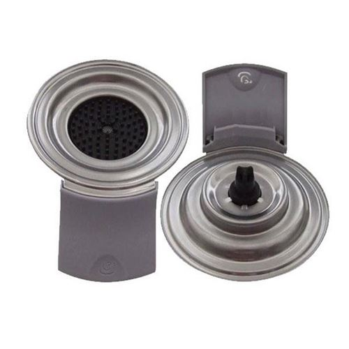 Support dosette 1 tasse gris pour machine a dosette philips