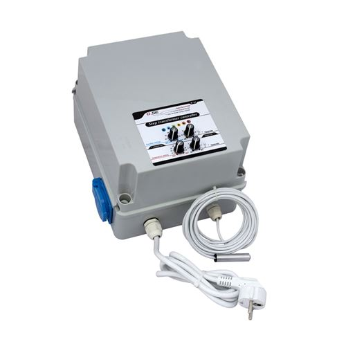 Gse - humidity & temp step transformer controller 2.5a - 2 fan