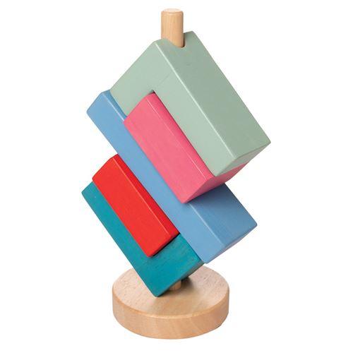 Manhattan Toy tour de bloc angulaire junior 20,32 cm bois 5 pièces
