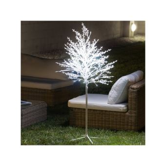 Arbre décoratif enneigé (120 led) - Achat & prix | fnac on
