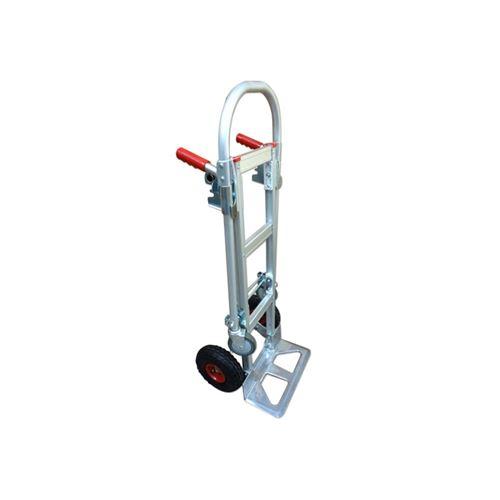 Diable-chariot aluminium - 2 en 1 - 250-350 kg