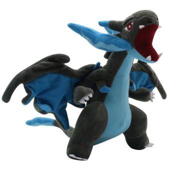 Peluche Pokémon Charizard Dracaufeu Noir 25cm