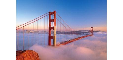 Golden Gate Bridge, San Francisco 1500 Piece Puzzle
