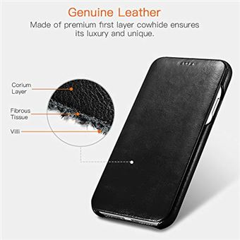 coque cuir iphone xr luxe