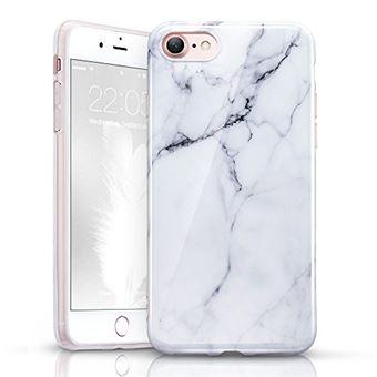 ESR Coque iPhone 7, Coque iPhone 8 Marbre, Coque Silicone Motif Marbre, Housse Etui de Protection en TPU Souple Lustré pour iPhone 7 / iPhone 8 (2017) ...