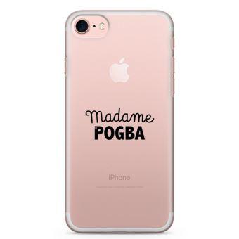 Coque iPhone 7 7 Madame Pogba Taille iPhone 7 Plus Noir
