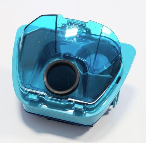 Bac à poussière bleu complet